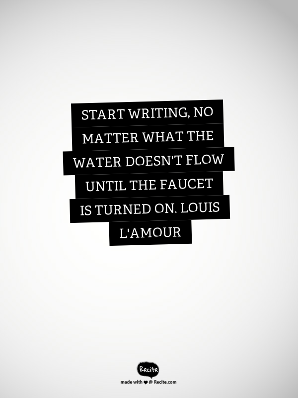 Louis L'Amour Quote
